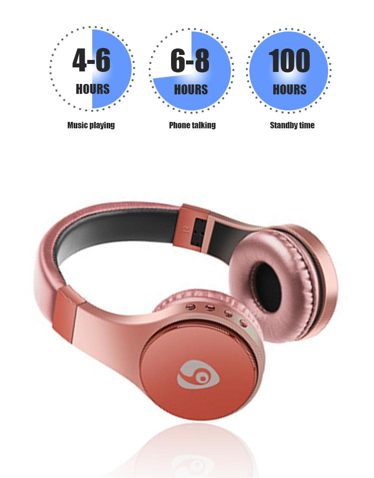 S55 Bluetooth Headphones With Card FM Head-mounted Earphone Foldable Headset For Smart Phone Wireless Headphone Fast Shipping