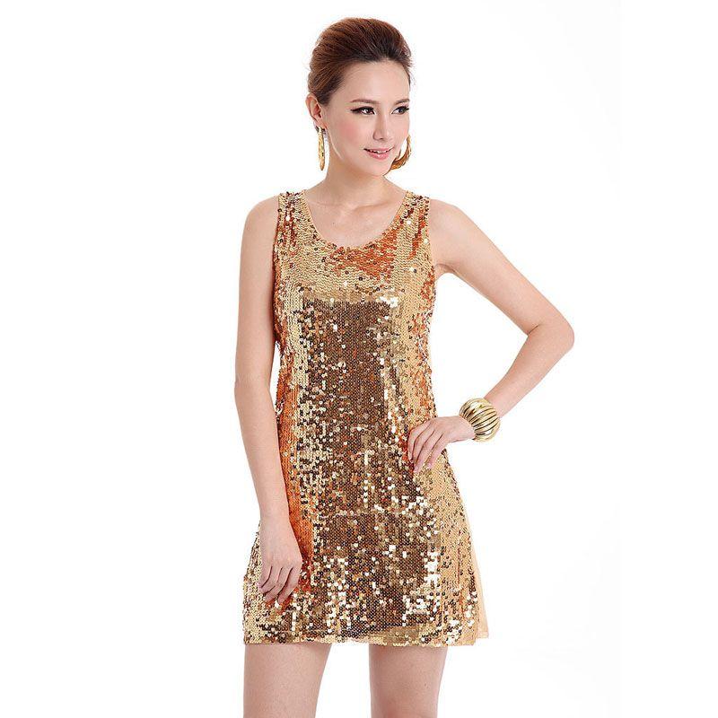 Wholesale- European style beautiful shinning Bling Bling Sequin lady club  dress, Russian apparel vestidos Dropshipping