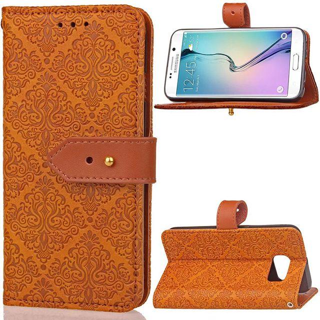 virar pu carteira de couro de luxo capa case para samsung galaxy a3 a5 a5 s5 j3 s8 s6 s7 borda j5 j7 prime