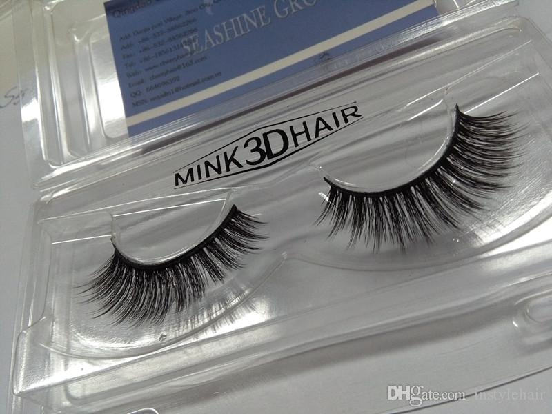 New Handmade 3D False Eyelashes Extensions Popular Wholesale Price 3D Eye Lashes Strips for Make Up Beauty