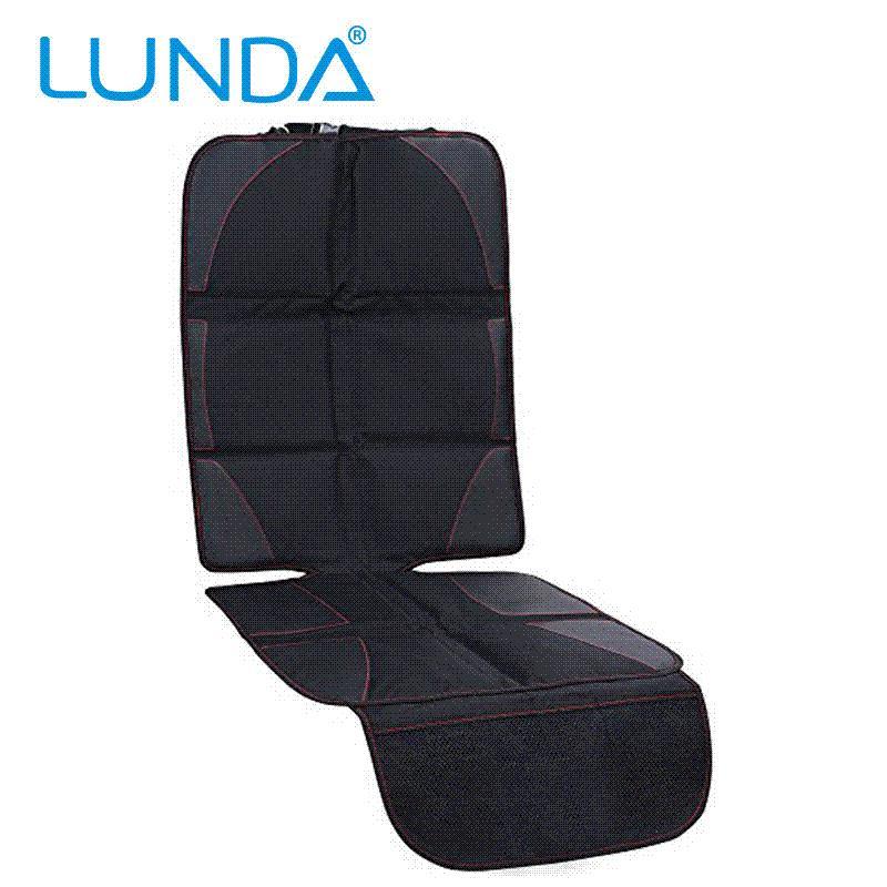 Lunda Oxford Luxury Car Seat Protector Child Or Baby Auto Seat Protector Mat Protection For Car Seats Black Leather