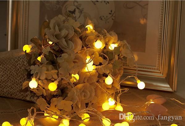 Coversage 10 Mt 100 Led Girlande Weihnachtsbaum Girlande String Weihnachtsdekoration Ball Led Vorhang Navidad Vorhang Lichterkette Urlaub