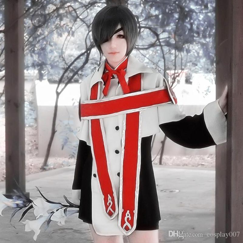 Compre Ciel Phantomhive Coro De La Iglesia Trajes De Cosplay Anime Japonés  Ropa De Mayordomo Negro Mascarada   Mardi Gras   Disfraces De Carnaval A   46.71 ... 4c6ac6ed0b25