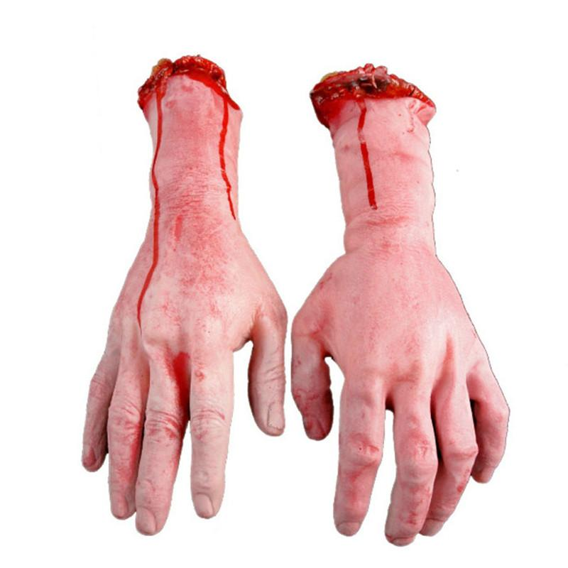 2018 Wholesale Halloween Prop Horror Human Arm Hand High ...