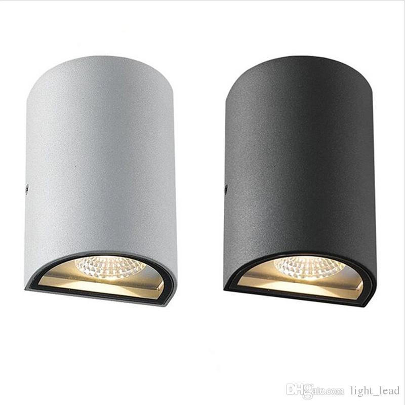 Lampe murale à LED 10W intérieure extérieure étanche étanche à LED murline lumineux éclairage d'éclairage d'éclairage porche lampe de jardin IP65
