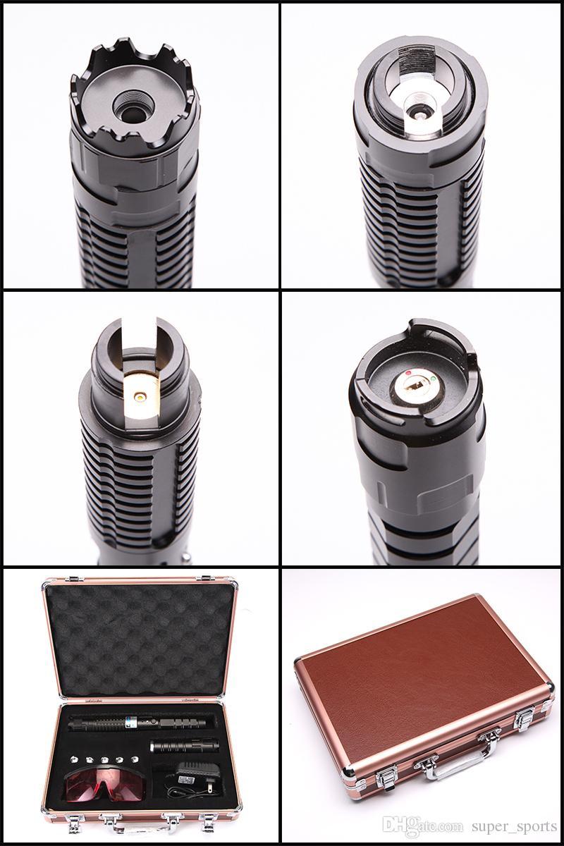 450nm Strong High Power Синий лазерная указка Pen фонарик регулируемым фокусом Visiable луча фокусируемый Lazer факел Бесплатная доставка