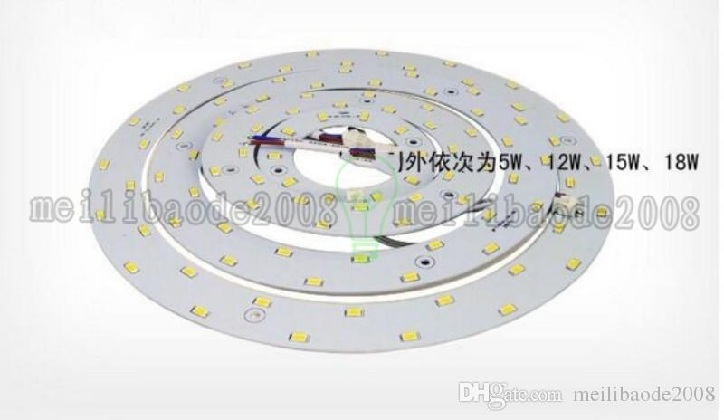 홍보 5W 12W 15W 18W 23W SMD 5730 천장 원형 마그네틱 라이트 램프 AC85-265V AC220V 라운드 링 LED 패널 보드 자석 포함 MYY