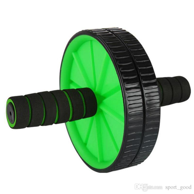 Frete grátis Início Sports Fitness Equipment cintura Bones Abdominal Roda Ab Rolo Para Exercício Fitness Equipment Ab Rollers