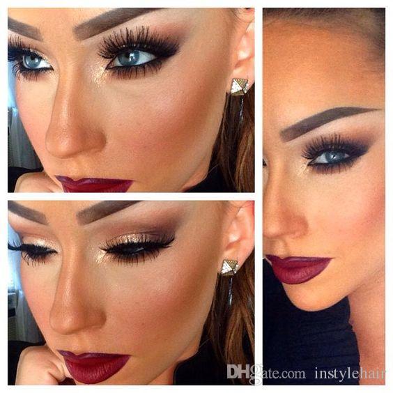 Lashes False Eyelashes Natural Makeup 3d Mink Lashes Strips Hot Sale