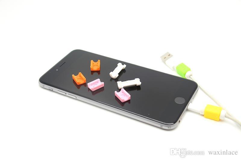 Multi colori protezione del cavo del caricatore del cavo del caricatore del telefono cellulare della manica D2 del protettore del cavo di USB di colori la linea di IPhone protettiva