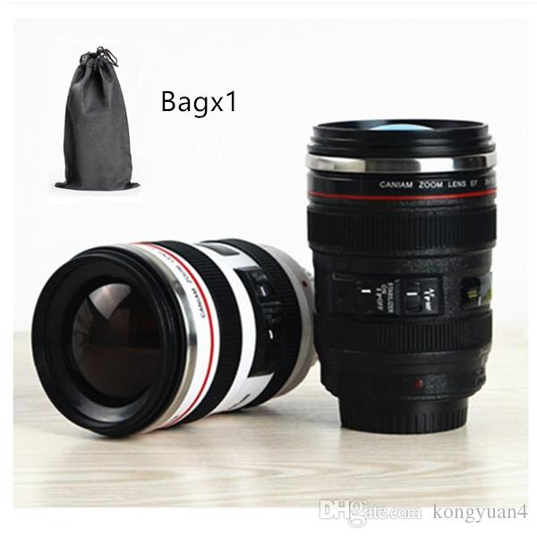 Creative Camera Lens Coffee Mug Canons Cups 6 Generation Of Lens Mugs For Canon Fans Photographers Novelty Gifts