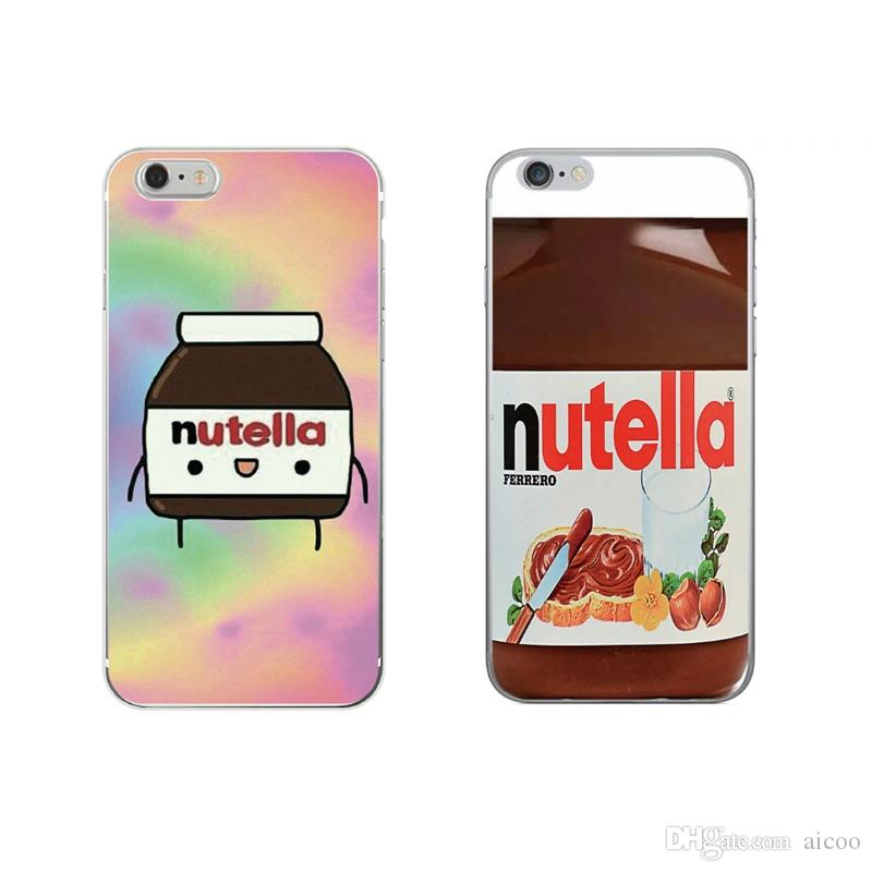 nutella wallpaper kawaii cute cell phone case soft tpu cover for