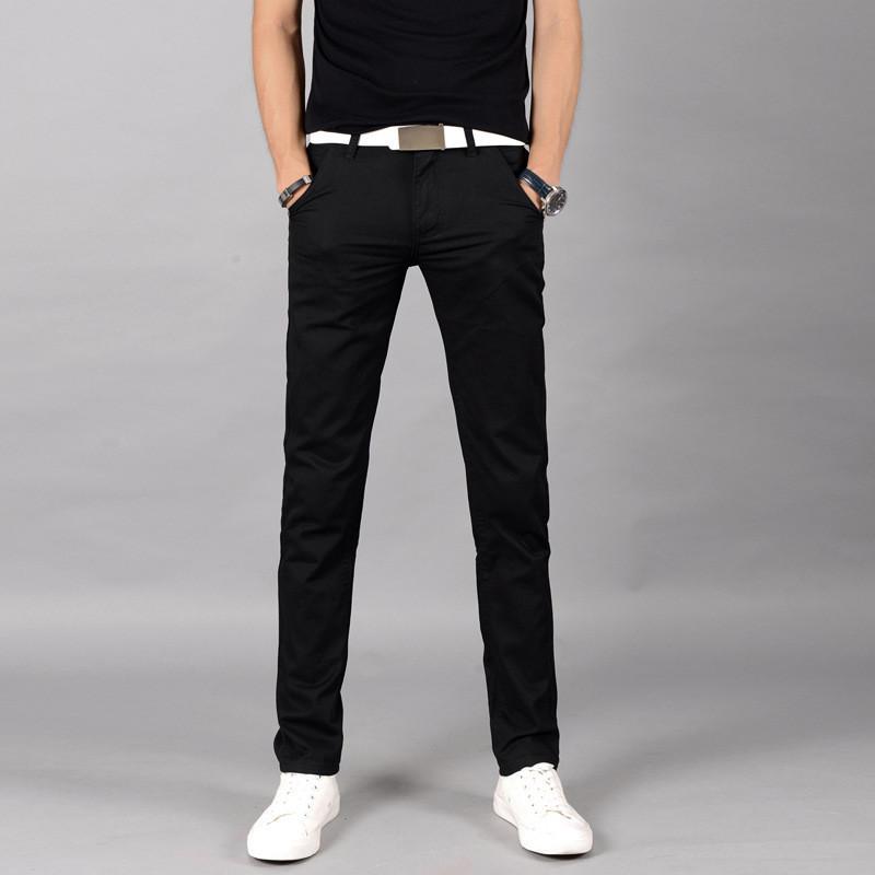 Compre Al Por Mayor Hombres Pantalones De Diseño Chinos Stretch Skinny Slim  Fit Jeans Todos Los Tamaños De Cintura Holt A  26.37 Del Erzhang  9fcfcaca8e35