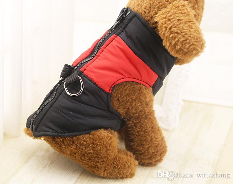 Chien Vêtements Pour Petits Chiens Chiot D'hiver Chihuahua Chien Vêtements Pour Chiens Étanche Moyen Grand Chien Manteau Veste Ropa Para Perros XS-XL