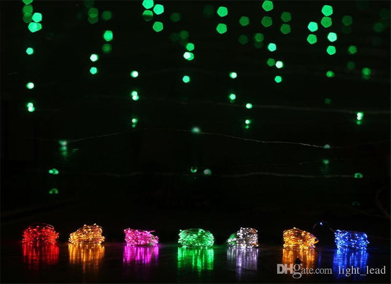 Mini LED Fairy String Lights 2M 20LEDs Romantic Light String for Valentine Day LED Battery Operated Decorative String Lamps
