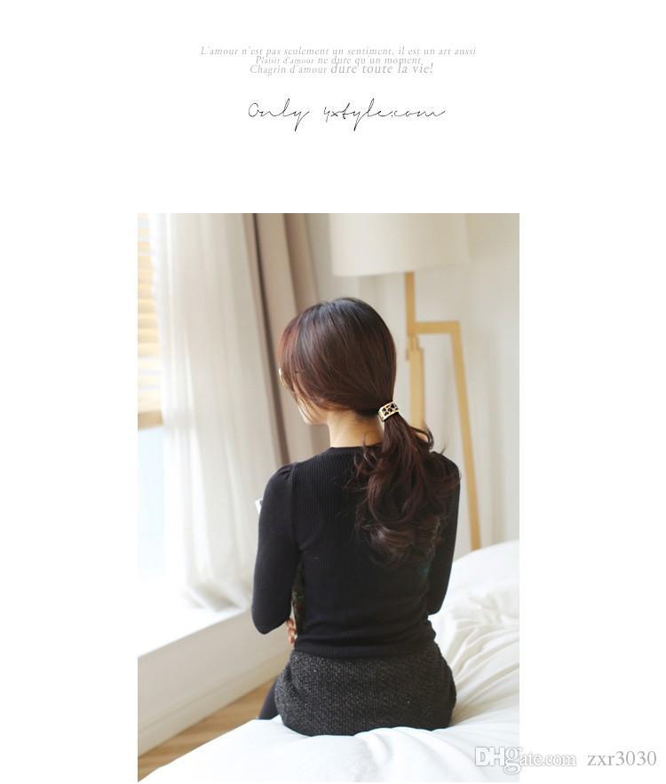 Hot Sales Fashion Plastic Print Hair Rope Elastici fasce capelli in gomma Fasce le donne Accessori capelli cravatta coda di cavallo le ragazze