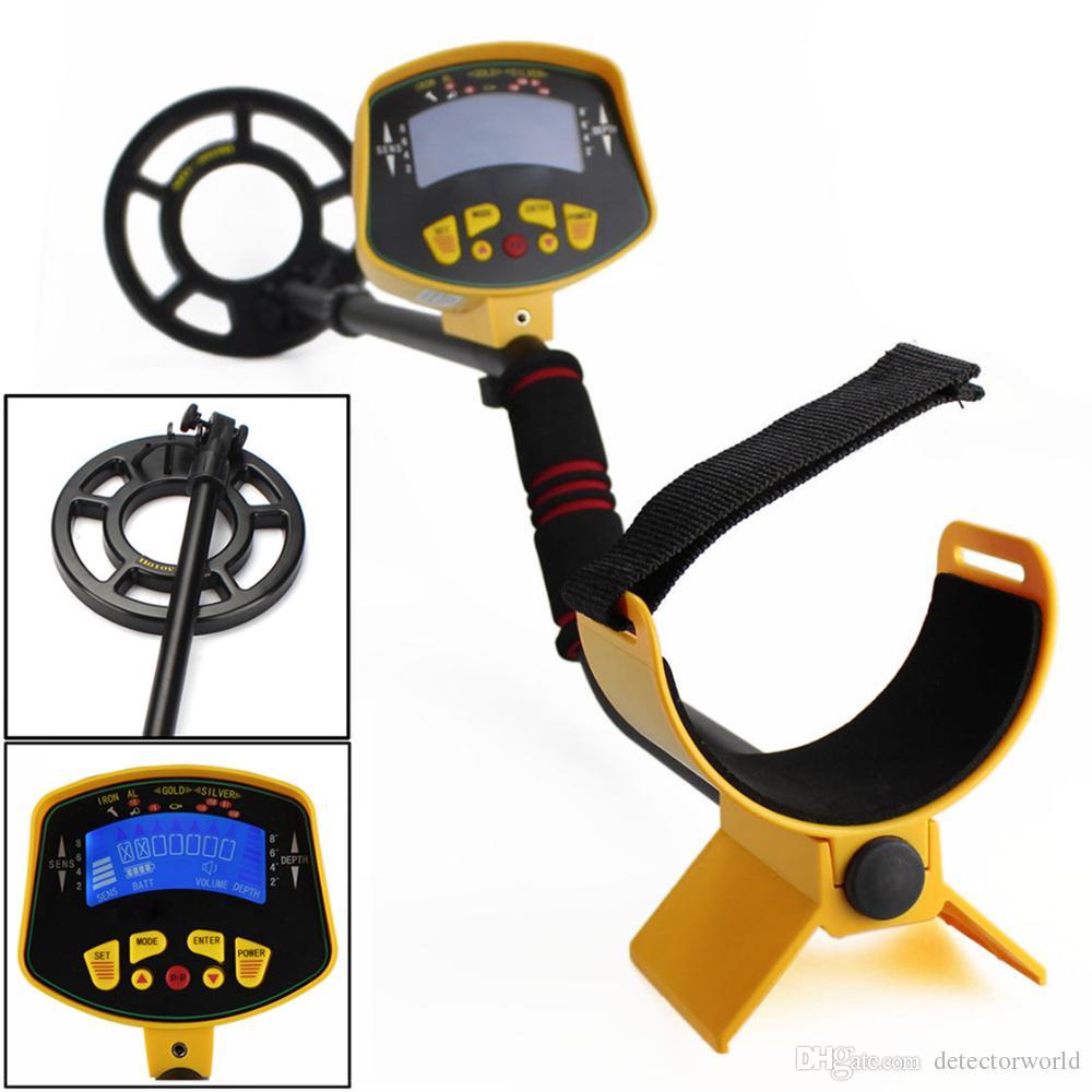 Détecteur de métaux KingDetector Professional MD3010II Gold Sensibilité élevée et écran LCD Hunter de trésor MD-3010II