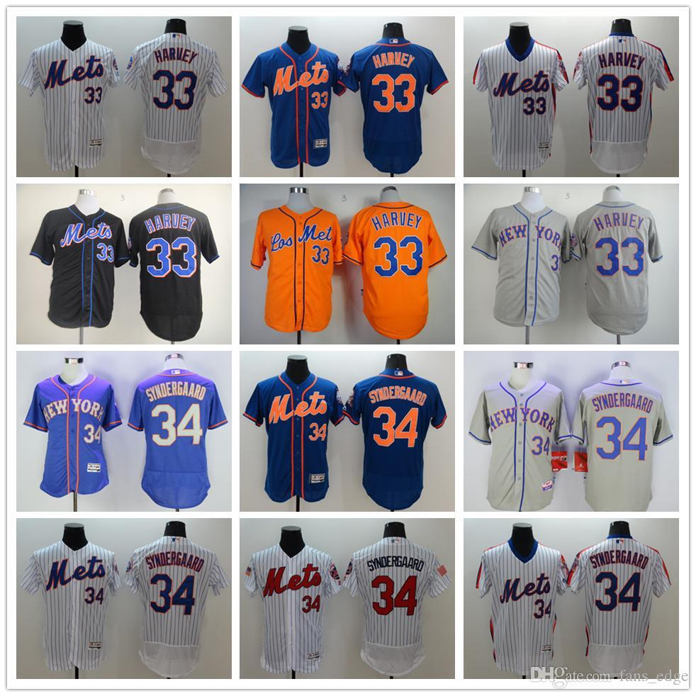 base player jersey mens noah syndergaard replica white majestic jersey mlb new york mets 34 home coo
