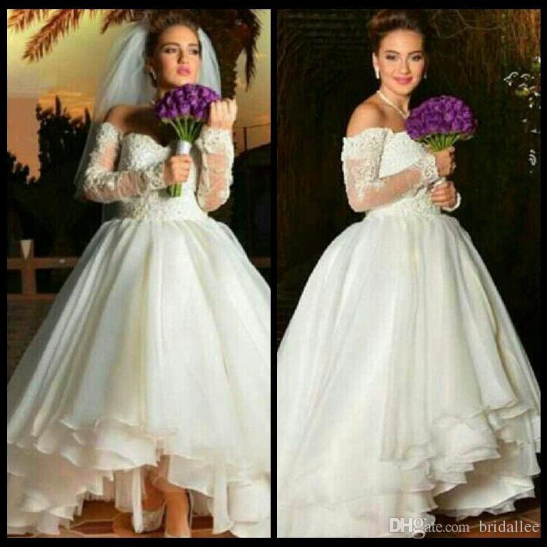 Cheap Scalloped Vintage Style Dress Discount Hippie Wedding Dresses Sleeves 34de52e1f