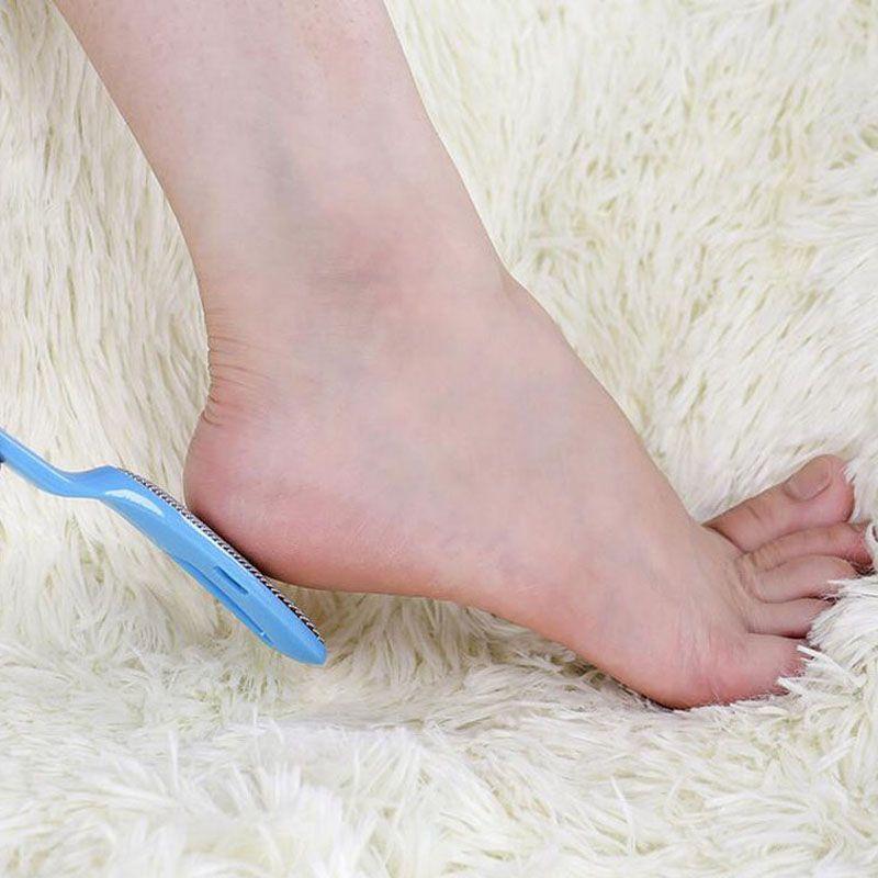 Feet Rasp Callus File Hard Dead Skin Remover Metal Exfoliating Pedicure Tool Foot Care Tools 2 in 1 Kits ZA1686