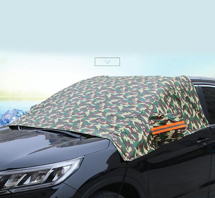 Camouflage Car Window Cover Sunshade Snow Covers Reflective Foil For