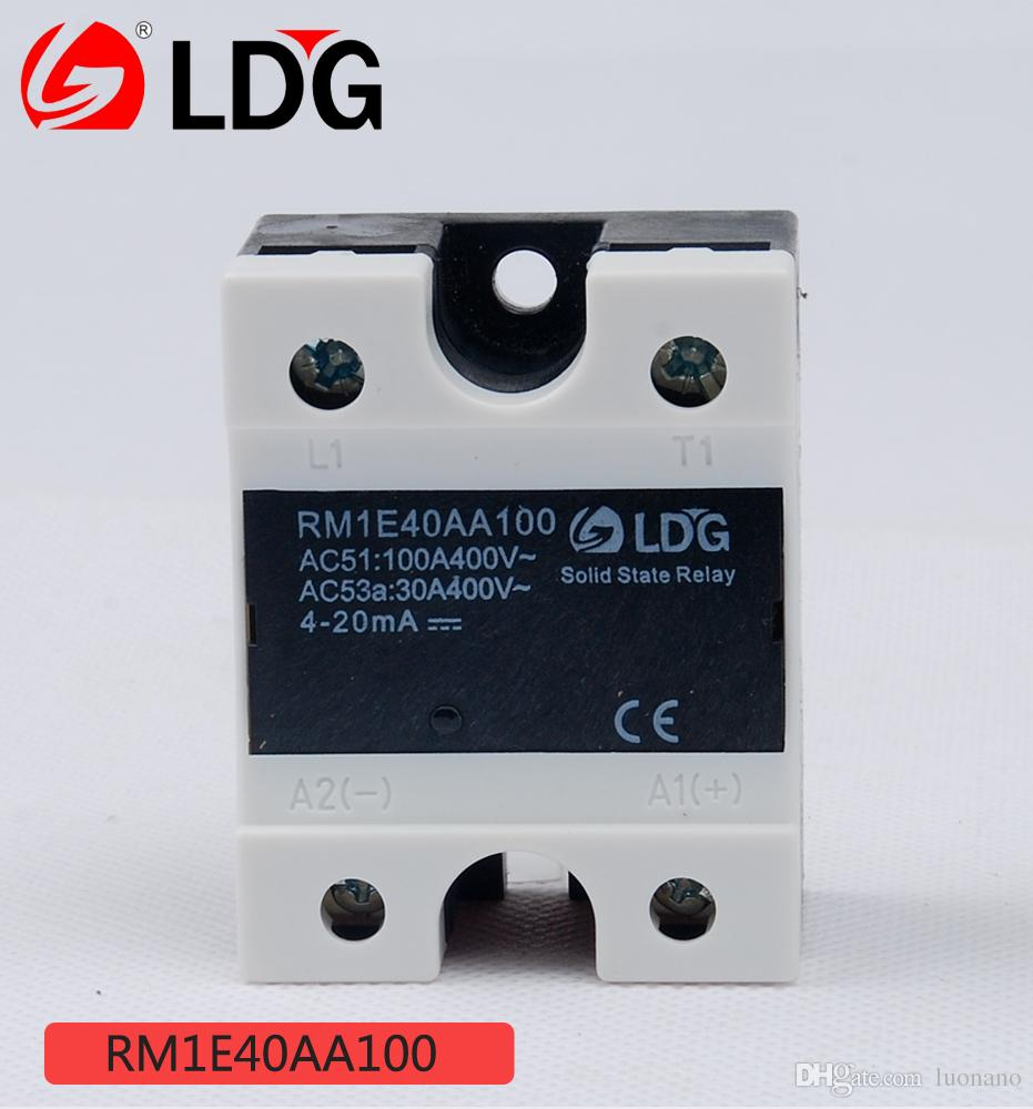 2018 Ldg Rm Series Single Phase Ac Ssr Solid State Relay Rm1e40aa100 For Operation Current 100a Voltage 400vac Module From Luonano 4552 Dhgate
