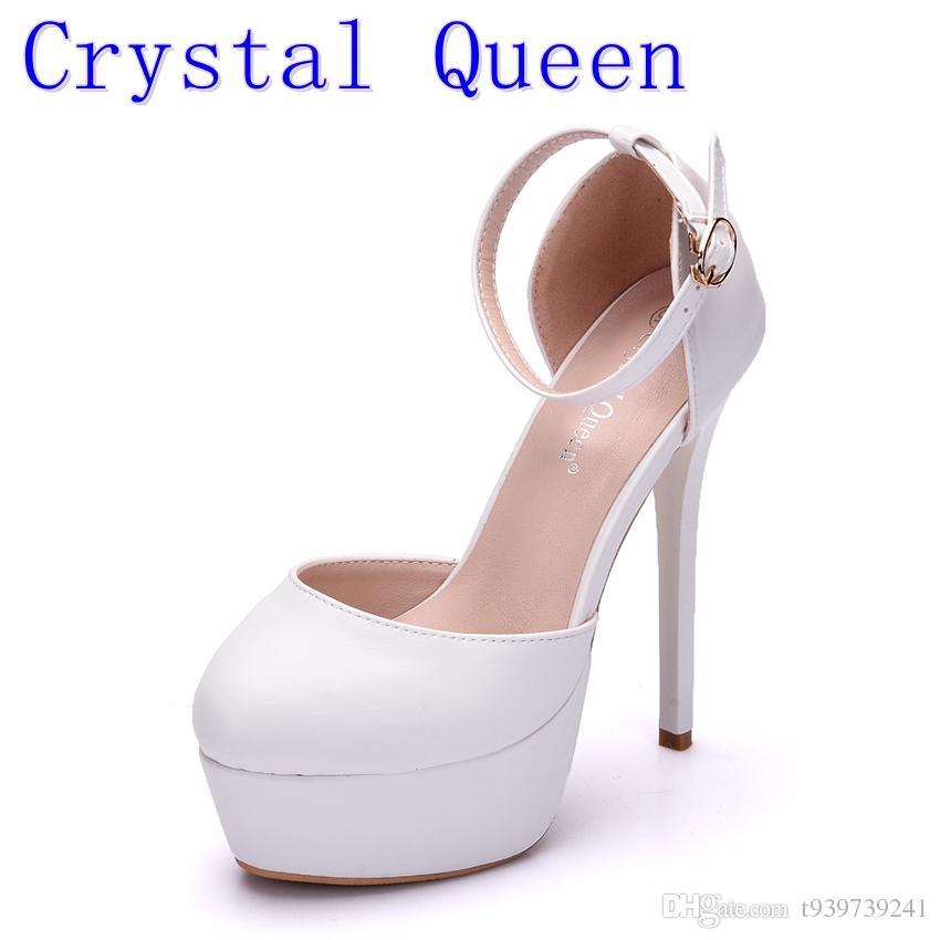 14 cm de haut avec Crystal sandales. lBklA