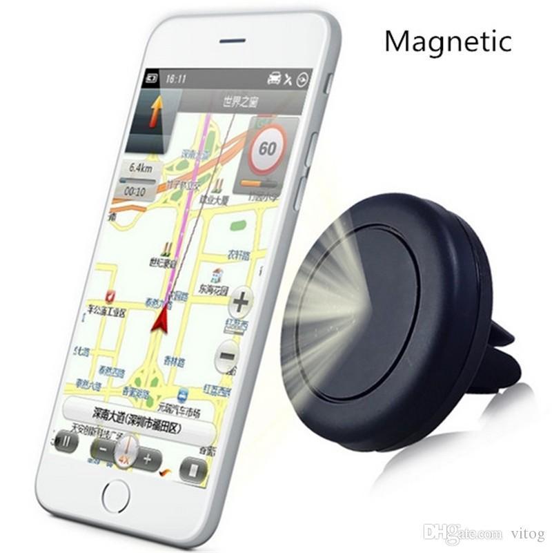 Supporto telefono Supporto auto Ventosa magnetica Supporto automobile universale Supporto cellulare Supporto monofase, magnete rinforzato Più facile Guida più sicura