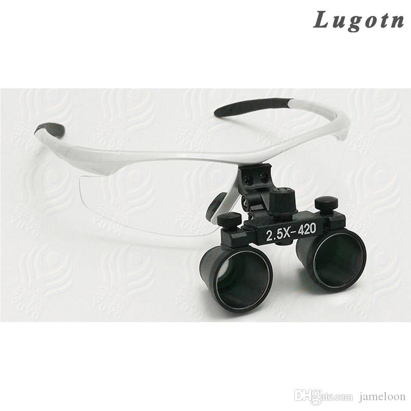Compre 2.5X Vezes Ampliação Lente De Aumento Lupa Óculos Operação Cirúrgica  Lupa Ajustável Considerável Lupa Dental De Jameloon,  38.58   Pt.Dhgate.Com fbf31be975