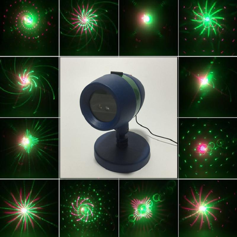 Patterns Laser Star Lights Projector Showers Park Garden Lamp Red Green  Motion Laser Light Outdoor Garden Christmas Decorations Christmas Yard  Decor ...