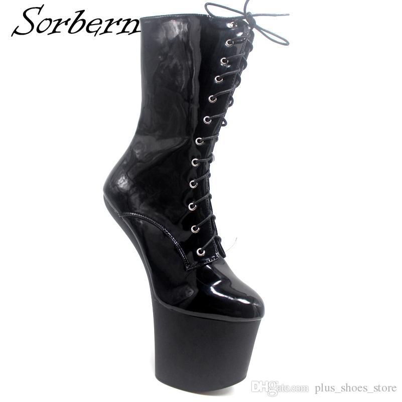 Sorbern High Heels Boots Cosplay Boot
