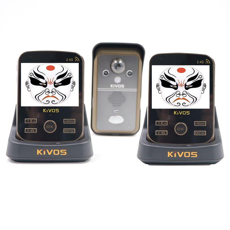 Großhandel Wholesale Kivos Kdb302a Wireless Intercom Video