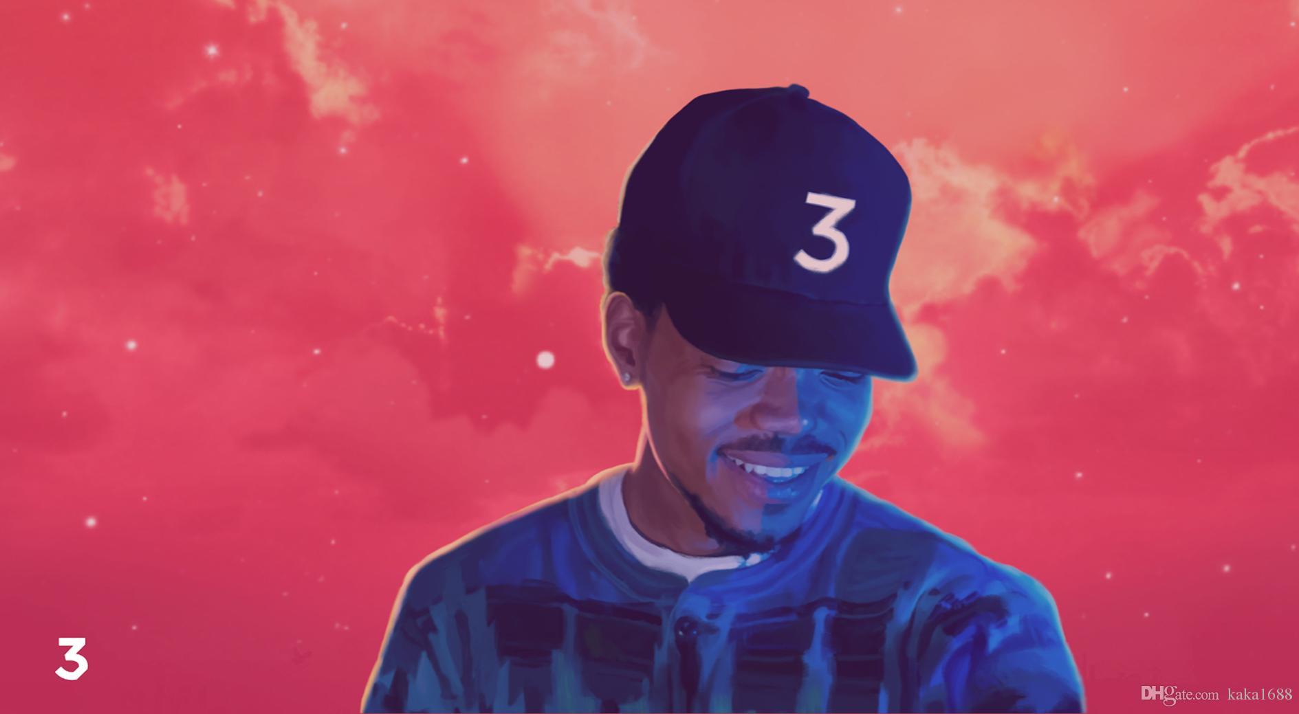 Chance der Rapper Acid Rap Stoff Poster 43