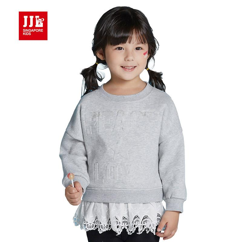 fa446f29d 2019 Wholesale Baby Girls Sweatshirt Girls Hoodie Children Winter ...