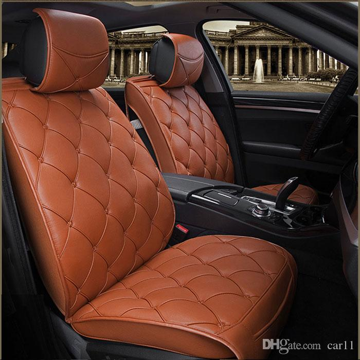 luxury leather car cushion universal for mercedes ford nissan car seat car covers auto. Black Bedroom Furniture Sets. Home Design Ideas