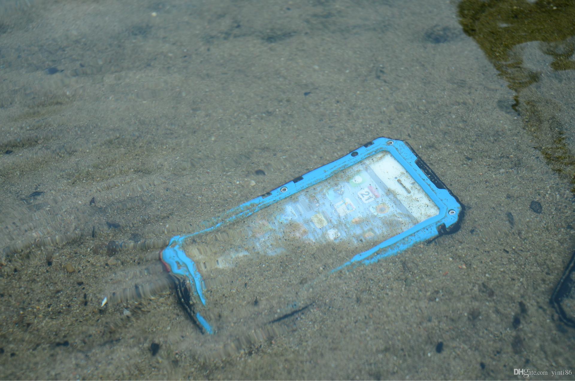 ل iPhone 7 الإسكان حالة مضادة للماء غطاء مقاوم للصدمات الترابية واقية ، الحالات الهاتف الخليوي واقية من الثلج لفون 7 زائد 6 6S زائد
