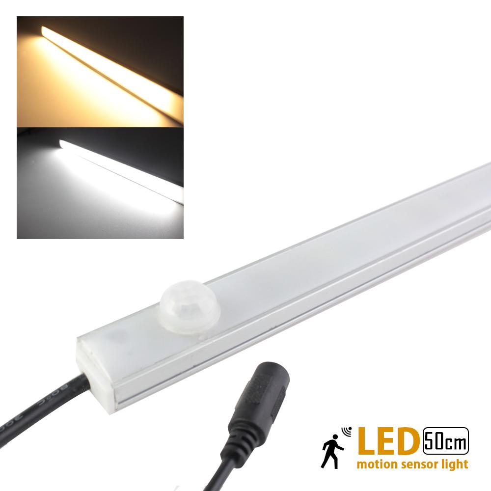Wholesale- Led Motion Sensor Light PIR Body Detector 50cm 12V10W LED Kitchen Under Cabinet Lights L& for Closet Wardrobe Indoor L& for Light L& Led ...  sc 1 st  DHgate.com & Wholesale- Led Motion Sensor Light PIR Body Detector 50cm 12V10W ... azcodes.com