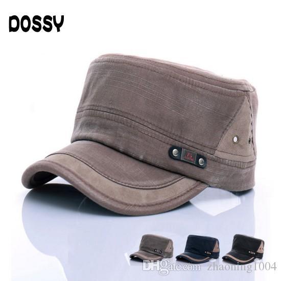 Popular Quality Designer Washed Denim Military Caps For Adults Mens Womens  Cotton Summer Skull Army Hats Sports Spring Man Sun Visor Salev Mens Caps  La Cap ... 76dfd773d7