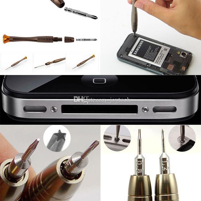 25 en 1 Outils de réparation de téléphone cellulaire Set Tournevis de précision Torx pour iPhone ordinateur portable Cellphone Electronics Outil à main