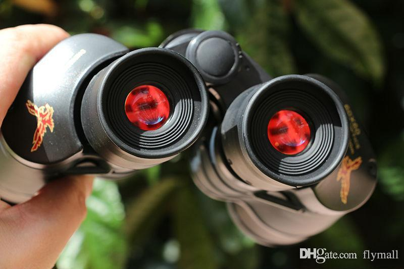 60x60 3000M Outdoor Waterproof Telescope High Power Definition Binoculos Night Vision Hunting Binoculars Monocular Telescopio DHL free