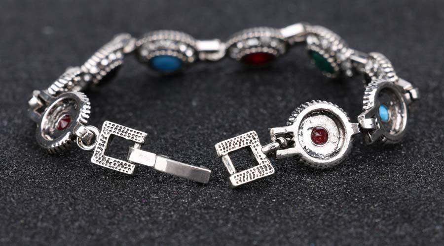 Brazaletes de resina de la vendimia bricolaje brazalete brazaletes accesorios de mano turca amplia brazalete para mujeres escultura retro muñeca