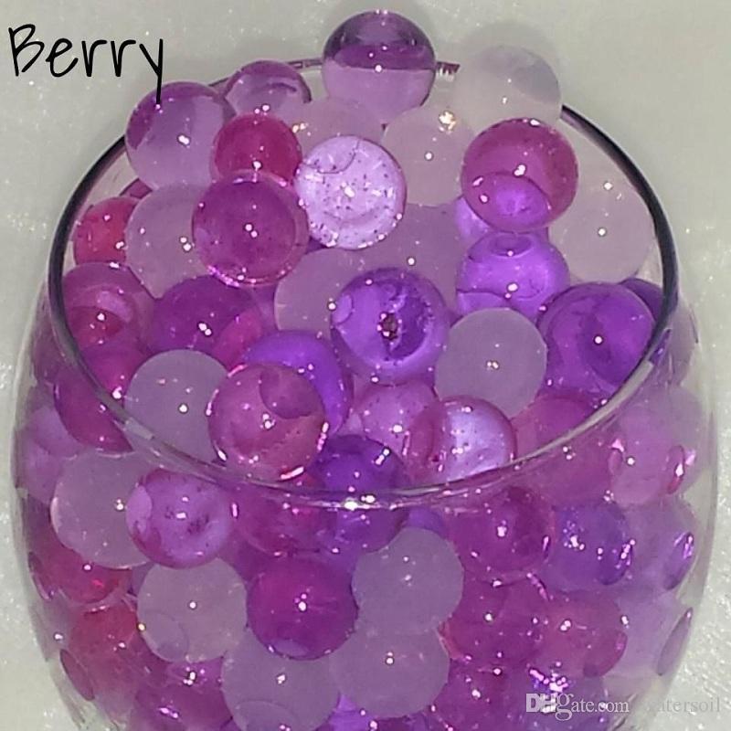 i U Pick! 20 CONFEZIONI perline di acqua del suolo di cristallo che crescono gelatine magiche palle bio gel da sposa casamento riempitivi orbiz
