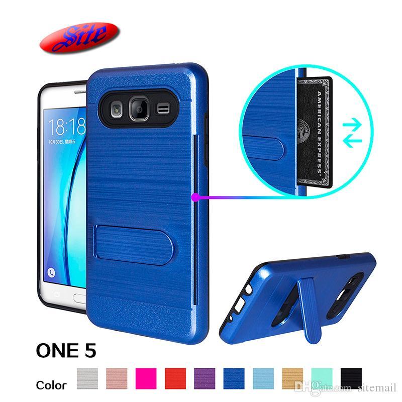 super popular af5d5 36b1a Credit Card Slot Mobile Phone Case Cover For Samsung ON5 Case,For Samsung  Galaxy ON5/G550 Case