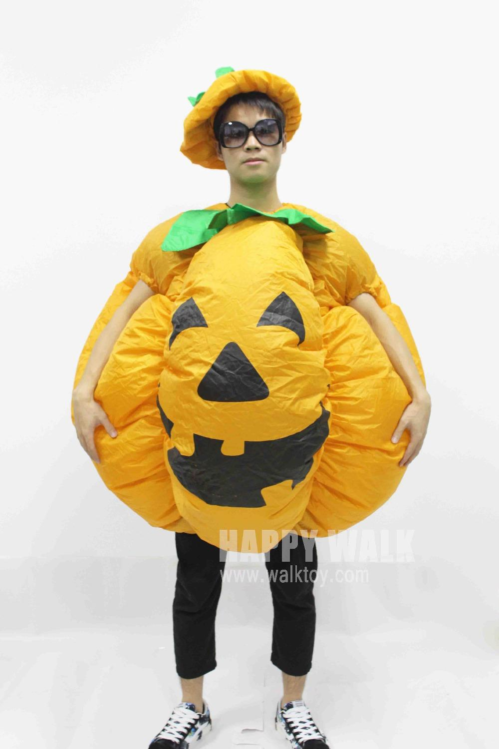 halloween pumpkin cosplay inflatable costumes for adult in halloween party costume to dress for man or women halloween gift cool costumes original halloween