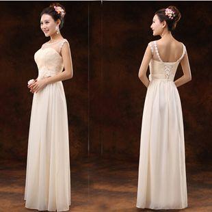 Mix Different Style Korean Long Dress for Bridesmaid Sweetheart ... eeb81c987e9b