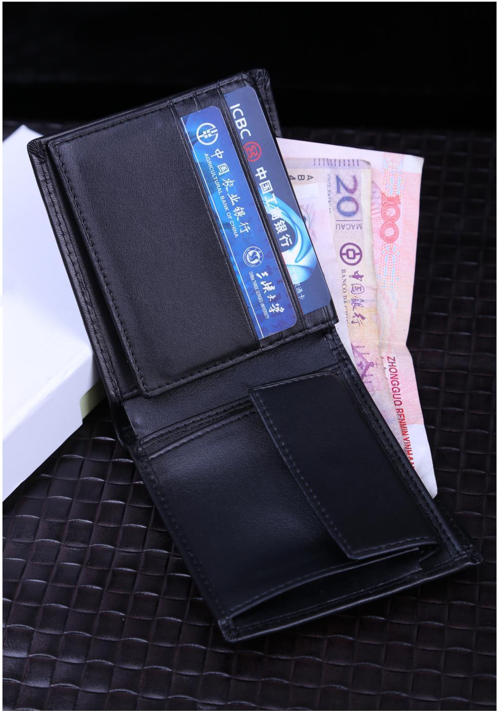 Portafogli da uomo marca famosa in vera pelle designer portafoglio uomo breve borsa w / portamonete tasca prezzo del dollaro di alta qualità spedizione gratuita