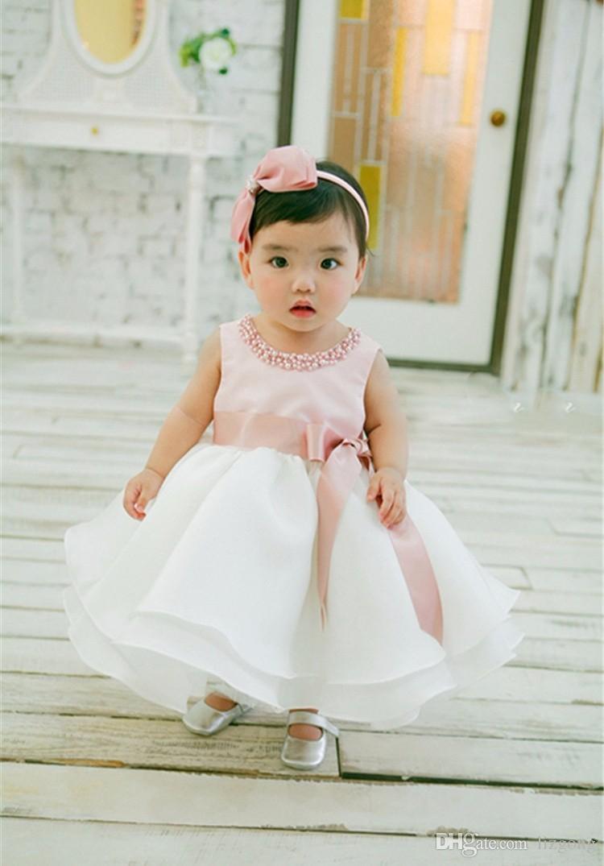 Gro 223 Handel 2017 Neues Baby Kleid F 252 R M 228 Dchen Neugeborenes