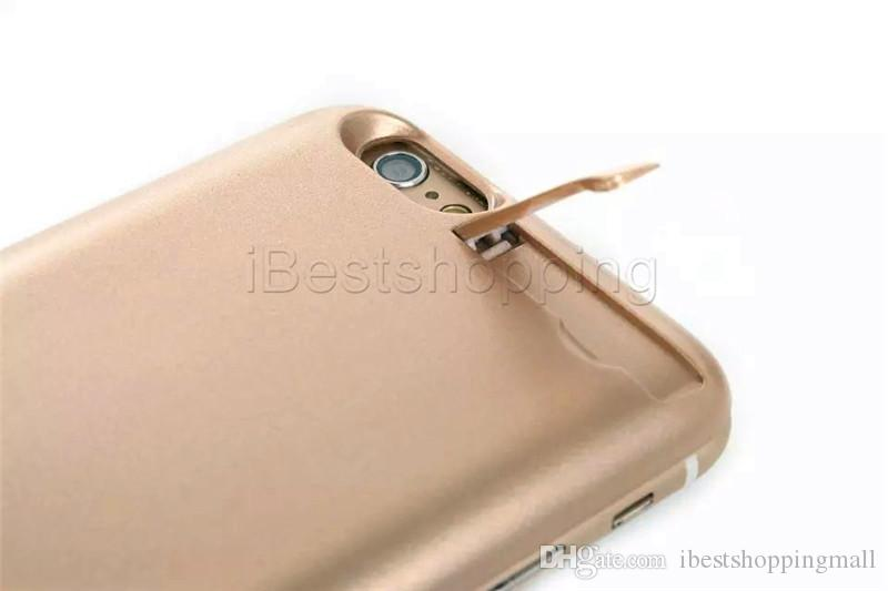 Good quality 5000mah 7000mah Powercase External Power Bank Cover Charger powerbank case For iPhone 6 6s 7 Plus