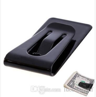 سعر جيد جدا سليم المال محفظة كليب بطاقة المشبك بطاقة الفولاذ المقاوم للصدأ حامل بطاقة الائتمان حامل البطاقة