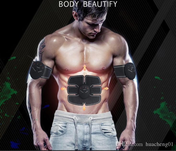 EMS Muscle Abdominal Exerciseur Dispositif Smart ABS Fit Formation Toner Minceur Body Shape Fitness Massager par DHL